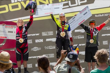 Awards Elite Women - EDC Les2Alpes 2015