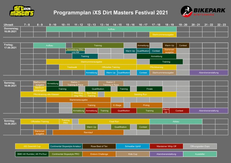 Programmplan September 2021