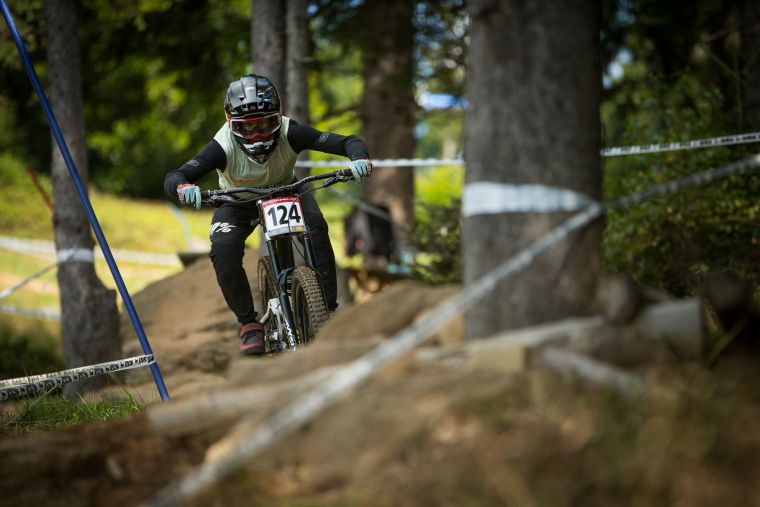 Dylan Maples already showed his quality with second place in Brandnertal © Rick Schubert