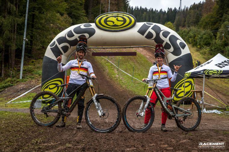 Die aktuellen Deutschen Meister der Elite Klassen Max Hartenstern und Nina Hoffmann haben nun die Chance, ihre Titel zu verteidigen.